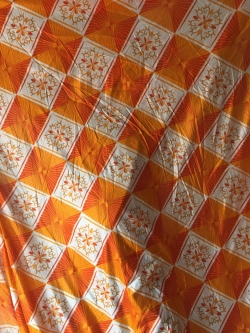 15 FT X 15 FT Ceiling Printed Knitting Cloth - Mandap Top - Multi Color.