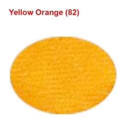 Satin Cloth /  42 Inch Panna / 8 KG /  Yellow  Orange Color/ Event Cloth.