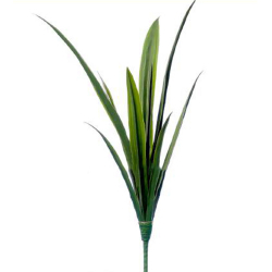 Height 22 Inch - Artificial Green Bunch - AF 333 - Leaf Bunch - Green Color
