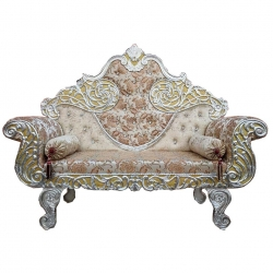 MultiColor - Regular - Couches - Sofa - Wedding Sofa - Maharaja Sofa - Wedding Couches - Made of Wooden & Metal