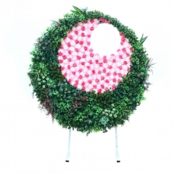 7 FT - Selfie Round Stand - Artificial Flower Stand - Multi Color