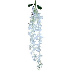 4.25 FT - Plastic Artificial Flower - Latkan - Flower Decoration - White Color