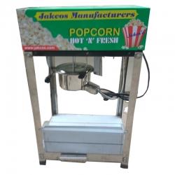 Popcorn Machine - LPG Popcorn Cart - Commercial Popcorn-maker - Stainless Steel