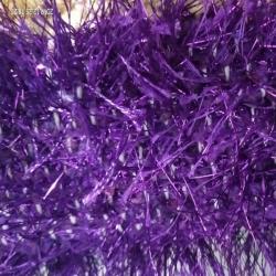 Decoration Sparkled Rainbow Fur - Purple Color