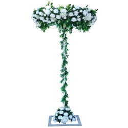 8 FT - Artificial Flower Stand - Flower Plant With Stand - Flower Decoration - Multi Color