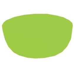 3 Inch - Bonchina Bowl - Vatti - Katori - Made Of Food-Gradualness Virgin Plastic - Pista Color