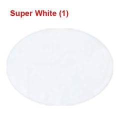 Satin Cloth - 42 Inch Panna - 8 KG - Event Cloth - White  Color