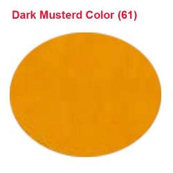 26 Gauge - BRITE LYCRA - 54 Inch Panna - Event Cloth - Dark  Musturd Colour
