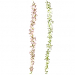 2.8 FT - Plastic Artificial Flower - Latkan - Flower Decoration - Multi Color