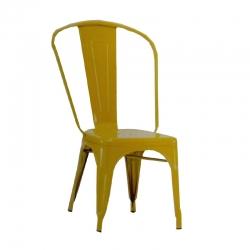 Executive Premium Chair / Banquet Chair - Decorative Chair - Yellow Color.