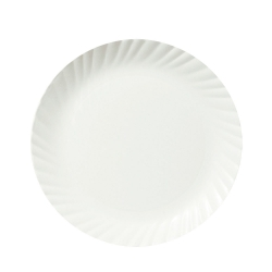12 Inch Dinner Plates - Made Of Food-Grade Regular Plastic Material - Leher Round Shape - Printed Plate