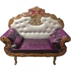 Purple & White Color..