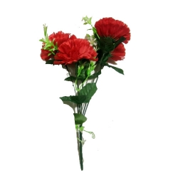 13 Inch - Artificial Flower Bunches - Fake Flowers Artificial Bunch - Decoration - Pink Color