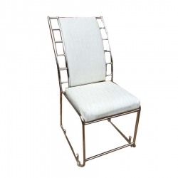 White Color - Banquet Chair - VIP Chair - Chair - Steel Chair - Wedding Chair - Made Of Stainless Steel