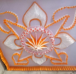 15 FT X 15 FT - Designer Mandap Ceiling - Wedding Top - Cloth Pandal - Made Of 14 KG Taiwan - Multi Color