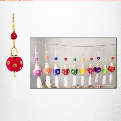 3 FT - Jhumar - Fancy Jhumar - Hanging Zoomar - Multi Color