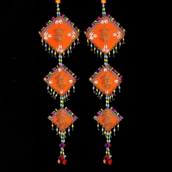 2.5 FT - Jhumar - Rajasthani Hanger - Door Hanging - Multi Color .