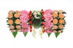 2.5 Feet Plastic Artificial Flower Carry / Main Door Hanging For Wedding & Decoration.