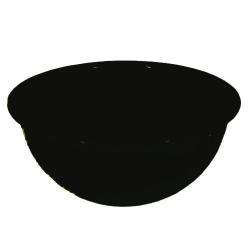 3 Inch - Regular Round Bowl - Katori - Wati - Curry Bowls - Dessert Bowls - Made Of Food Grade Virgin Plastic - Black Color