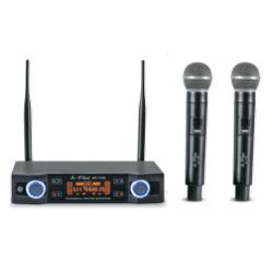 A Plus - AP-1100 Wireless Microphone - Black Color