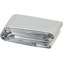 4.6 FT X 4.6 FT - Round Table Roll - Silver Color - Thickness 12 to 14  Stamping Foil & Metallize Foli