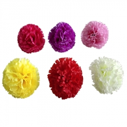Loose Flower - Artificial Regular Quality Flower For Wedding Ceiling Flower - Multi Color