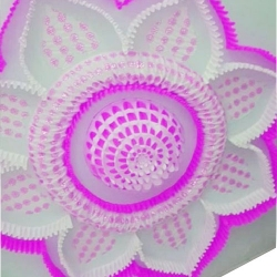 15 FT X 15 FT - Designer Mandap Ceiling Cloth - Top 14 KG Taiwan - Design Brite Lycra Cloth - Multi Color