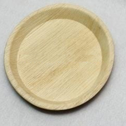12 Inch - Disposable Dinner Plate - Eco-Friendly Disposable - Round Areca Leaf Plates