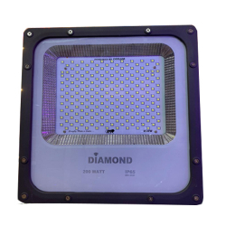 200 Watt - Flood Light - Back Chowk Heavy - Body Water Proof Drivers
