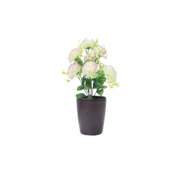 1.2 FT - Artificial Flower Bunches - Fake Flowers Artificial Plant without Pot  - Off White Color