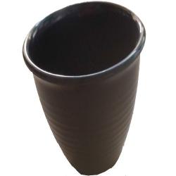 2.5 Inch - Tea Kullad - Tea Mugs - Melamine 100% - Black Color
