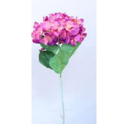 Height - 34 Inch - Hydrengea Flower Stick - Artificial Stick - AF- 305 - Stick - Light Purpule Color