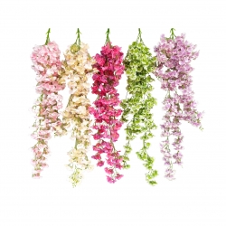 4.25 FT - Heavy Plastic Artificial Flower - Latkan - Flower Decoration - Multi Color