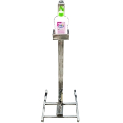 3 FT Hand Sanitizer Dispenser Stand Touch Free Foot Ope..