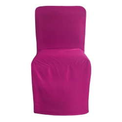 Chandni Cloth Chair Cover - Without Handle - For VIP Chair - Armless - Maharani - Square back