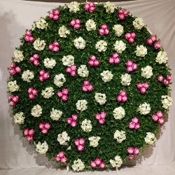7 FT - Selfie Round Stand - Artificial Flower Stand - Flower Decoration - Multi Color