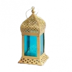 18 Inch - Decorative Lanterns - Hanging Lanterns - Kandil - Made of Iron.
