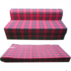 Single-Bed - Removable Sofa - Made Of Superior Quality Cotton - Multi-Color