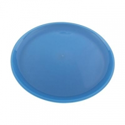13 Inches Dinner Plates  - Made Of Food Grade Virgin Plastic - Blue  Color