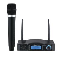 Studiomaster - NT 60 series Wireless Microphone - Black Color