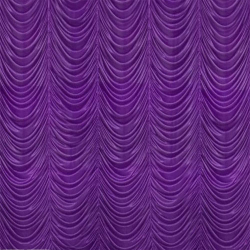12 Ft X 15 Ft - Designer Curtain - Parda - Stage Parda - Wedding Curtain - Mandap Parda - Background Curtain - Side Curtain - Made of Bright Lycra - Purple Color