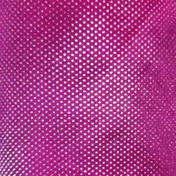 Foil Work Print on Brite Lycra - 54 Inch  Panna  - Event Cloth - Dark Pink & Silver Color