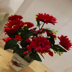18 Inch - Flower Bunch - Artificial Bunch - Flower Decoration - Multi Color