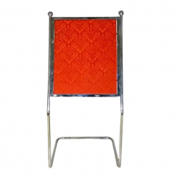4 FT - Welcome Board - Display Board - Parivar Board - Swagat Board - Made of Stainless Steel - Red Color (Available In 5 FT)