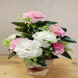 18 Inch - Flower Bunch - Artificial Bunch - Flower Deco..
