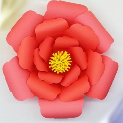 10 Inch - Daily Mall Paper Flower Decorations - Giant F..