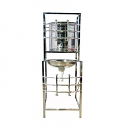 4.5 FT - Single Tab Wash Basin - Hand Wash Sink - Made of Stainless Steel ( Available In High Quality )