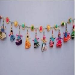 21 Inch x 5 Inch - Toran Puppets - Rajasthani Toran - M..