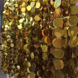 3 Ft - Coin Ladi - Sparkal  Sikka - Golden Color