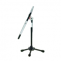 GS Original 36 Inch - Microphone Stand - Mice Stand - B.F.T. Model - Base Tripod - Stainless Steel